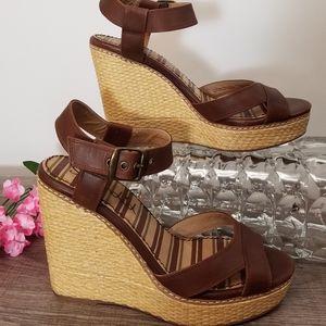 Splendid Sandals Wedge Leather 8.5 🎉HP🎉